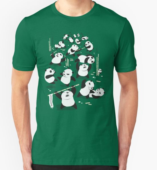 PANDAMONIUM T-Shirt by spadaman T-Shirt