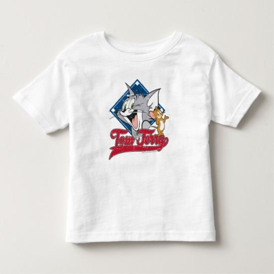 Tom And Jerry | Tom And Jerry On Baseball Diamond Toddler T-shirt
