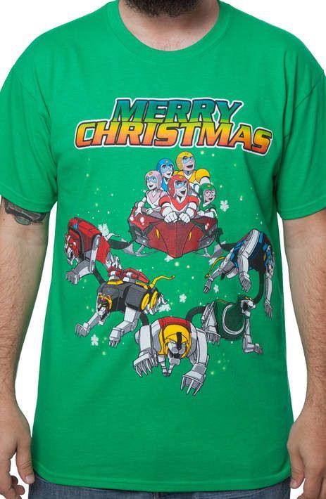 Voltron Christmas Shirt