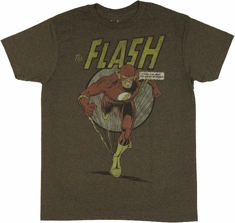 Flash Need Speed T Shirt Sheer