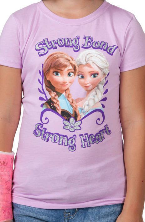 Purple Strong Bond Frozen Shirt