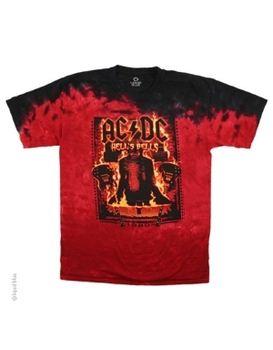 AC/DC Burning Bells Men's T-shirt
