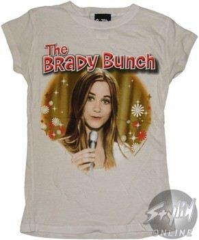 Brady Bunch Marcia Singing Baby Doll Tee