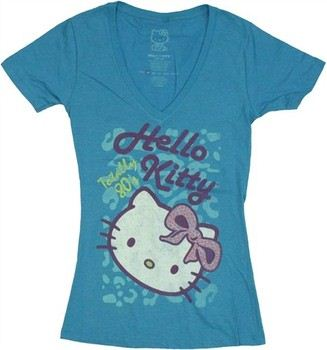 Hello Kitty Totally 80's Jack of All Trades Baby Doll Tee