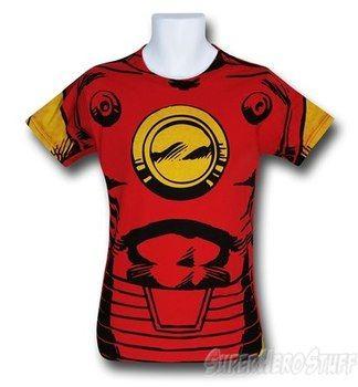 Iron Man Well-Defined Costume T-Shirt