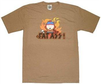South Park Fat Ass T-Shirt Sheer