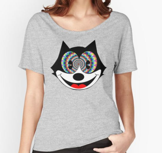 trippy felix Women's Relaxed Fit T-Shirt by Zachary Garrison T-Shirt
