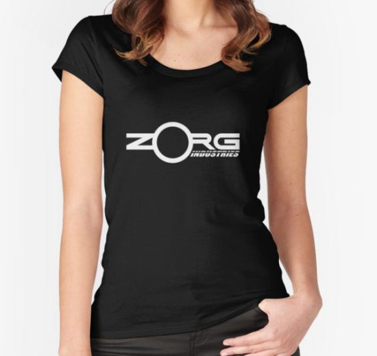 Zorg Industries (The Fifth Element) Women's Fitted Scoop T-Shirt by Azrael T-Shirt