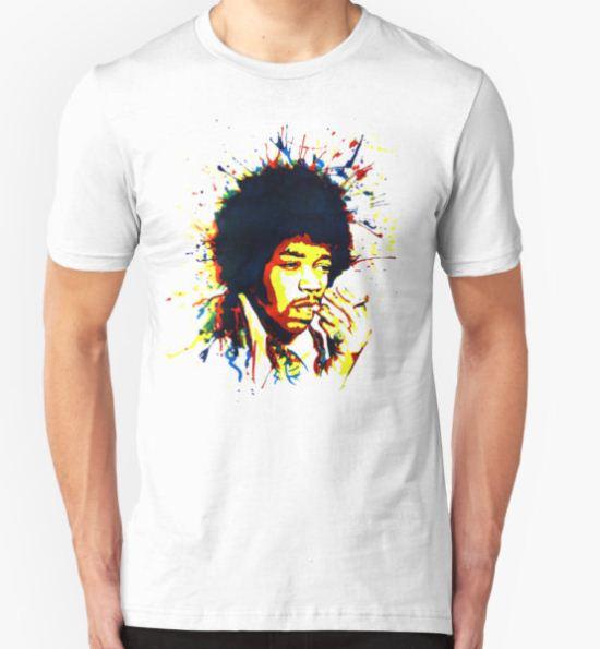jimi colorful T-Shirt by RobertRobert T-Shirt