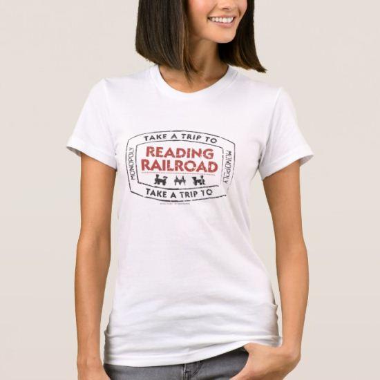 Take a Trip to Reading Railroad T-Shirt