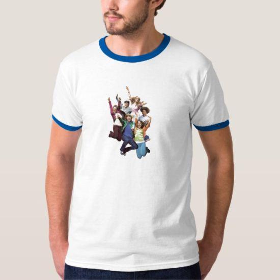 High School Musical Group Jumping Disney T-Shirt