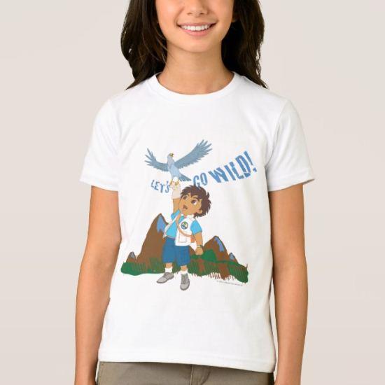 Go Diego Go!   Let's Go Wild! T-Shirt