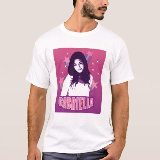 High School Musical Gabriella star glamour shot T-Shirt