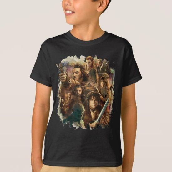 Desolation of Smaug Characters T-Shirt