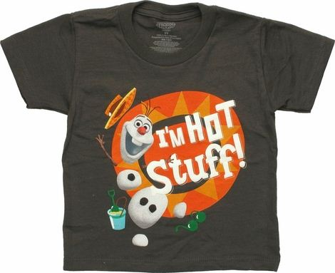 Frozen Olaf Hot Stuff Toddler T Shirt