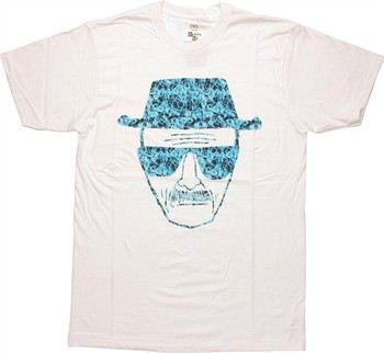 """754d08c9528f ... Breaking Bad Heisenberg Crystal T-Shirt Sheer. """""""