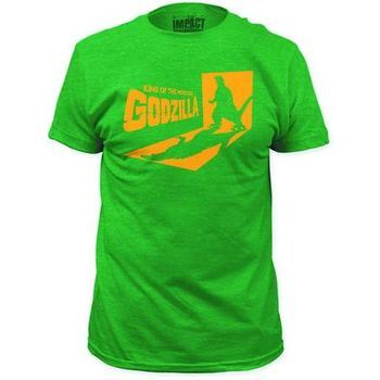 Godzilla King Of Monsters Previews Exclusive Green T-Shirt