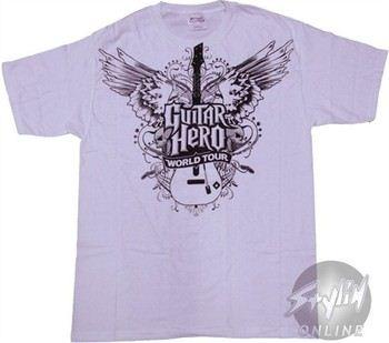 Guitar Hero World Tour Wings T-Shirt