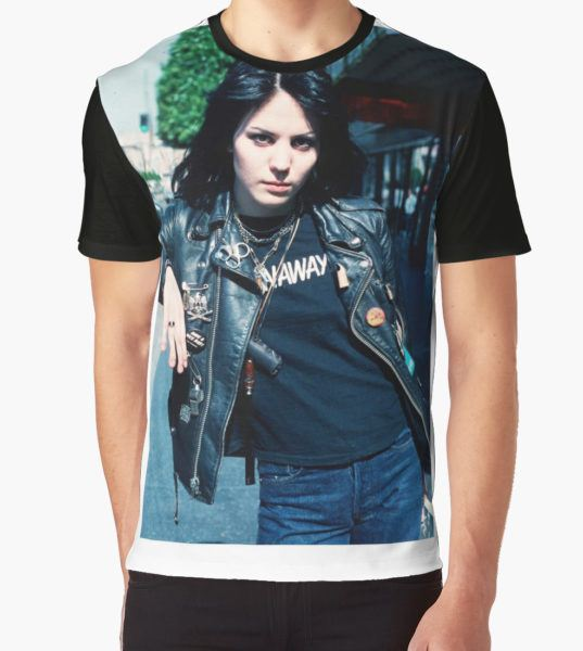 joan jett Graphic T-Shirt by juslechat T-Shirt