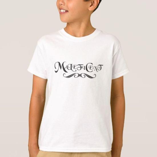 Sleeping Beauty's Maleficent (text) Disney T-Shirt