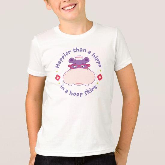 Hallie -Happier Than a Hippo in a Hoop Skirt T-Shirt