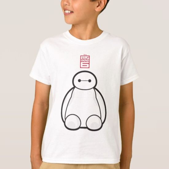 Classic Baymax Sitting Graphic T-Shirt