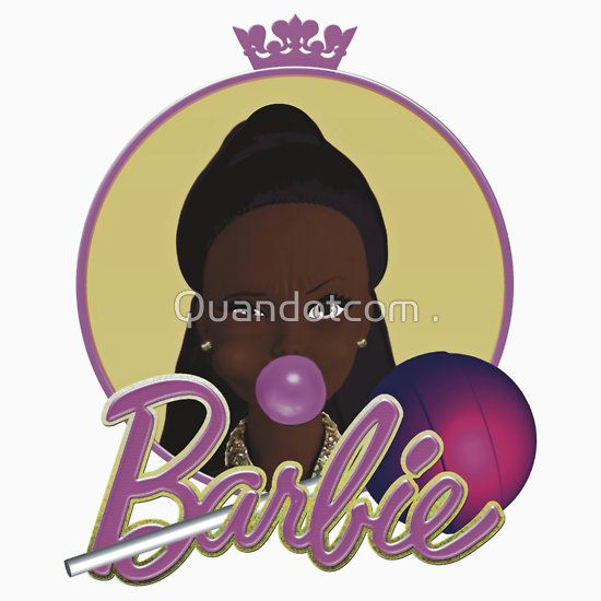 Black Barbie by Quan Shaw T-Shirt