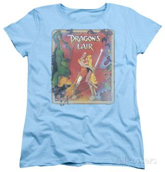 Womens: Dragon's Lair - Distressed Poster