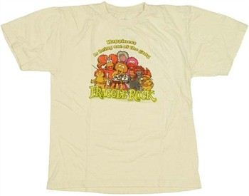 Fraggle Rock Happiness is Being One of the Gang Youth T-Shirt