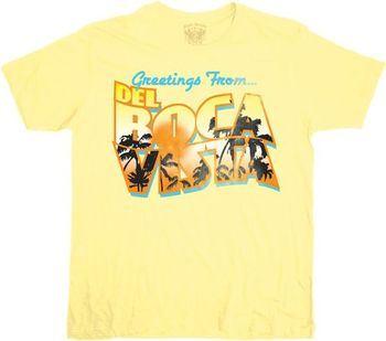 Seinfeld Greetings From Del Boca Vista T-shirt