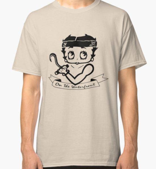Betty Boop Classic T-Shirt by closeddoor T-Shirt