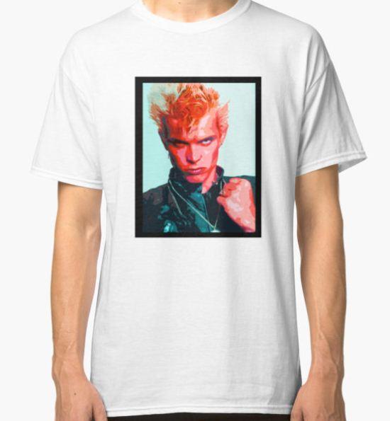 Billy Idol Classic T-Shirt by Daniel Astudillo T-Shirt