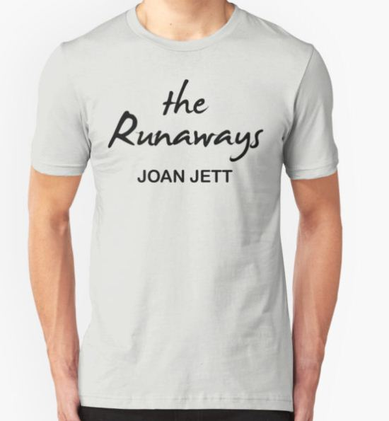 The Runaways Joan Jett T-Shirt by Marjii23 T-Shirt