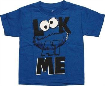 Sesame Street Cookie Monster Look At Me Juvenile T-Shirt