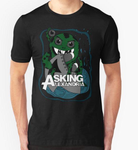 Asking Alexandria T-Shirt by Christastrophe T-Shirt
