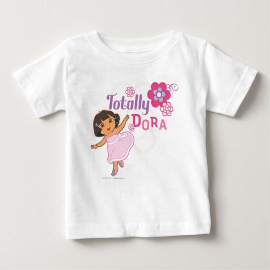 Dora The Explorer | Totally Dora Baby T-Shirt