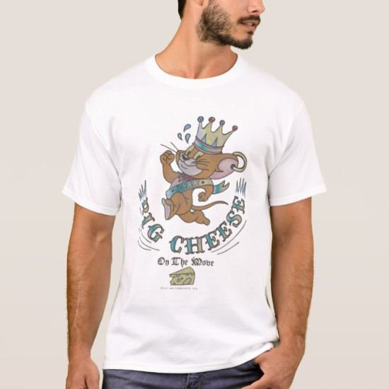 Jerry Big Cheese On The Moon 2 T-Shirt