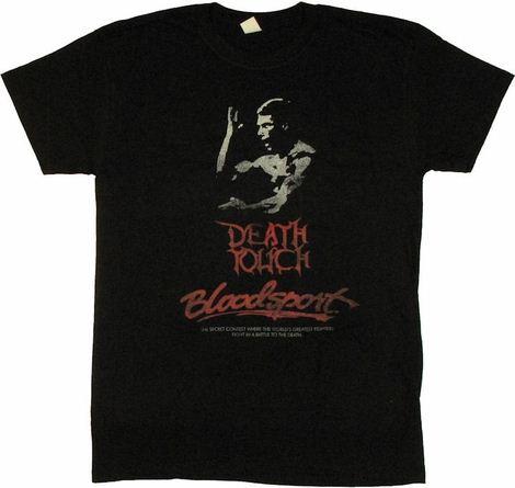 Bloodsport Death Touch T Shirt Sheer