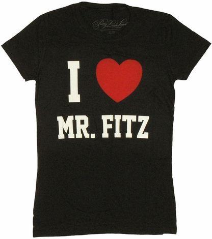 Pretty Little Liars Mr Fitz Baby Tee