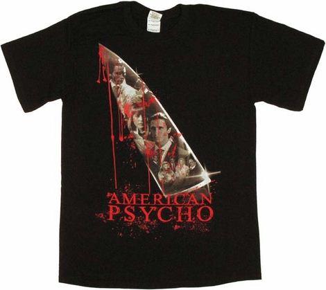 American Psycho Knife T Shirt