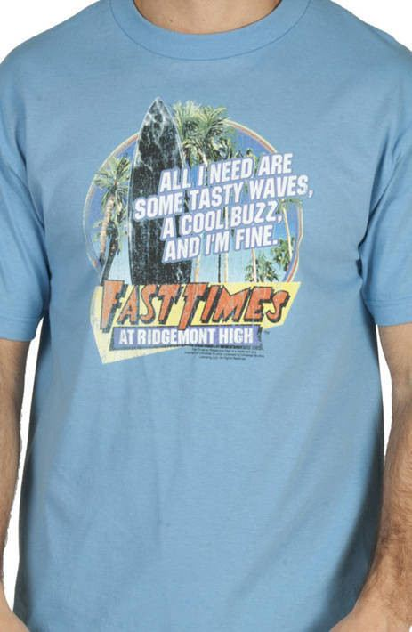 Tasty Waves Fast Times Shirt
