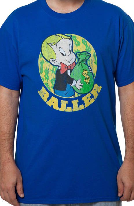Baller Richie Rich T-Shirt