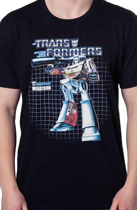 Box Art Megatron Shirt