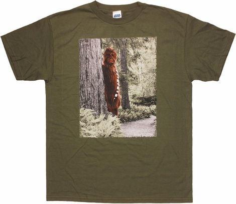 Star Wars Chewbacca Sasquatch T Shirt