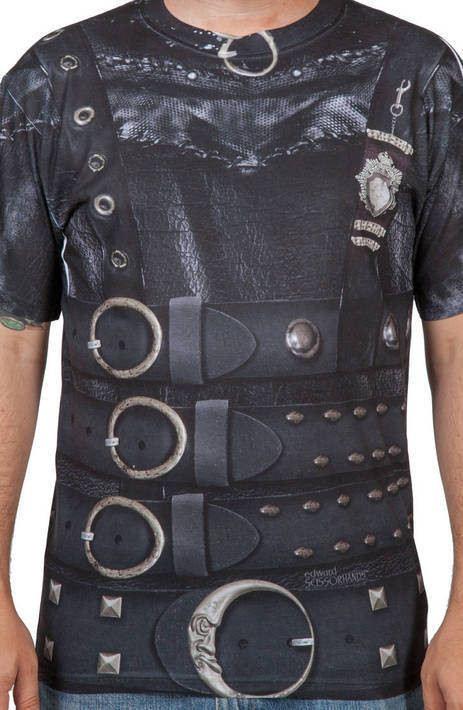 Edward Scissorhands Costume Shirt
