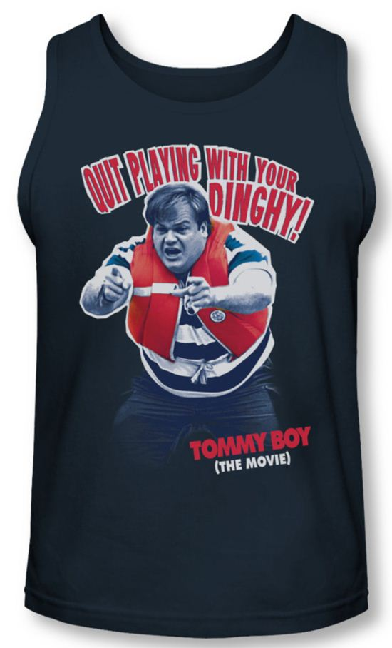 Tommy Boy Tank Top Dinghy Navy Tanktop
