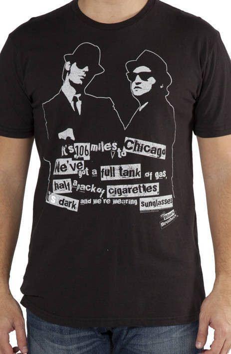 It's Dark Blues Brothers T-Shirt
