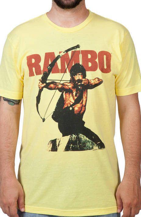 Bow and Arrow Rambo Shirt