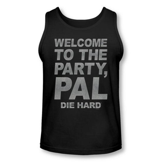 Die Hard Tank Top Party Pal Black Tanktop
