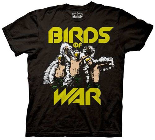 It's Always Sunny In Philadelphia Birds of War Black T-shirt